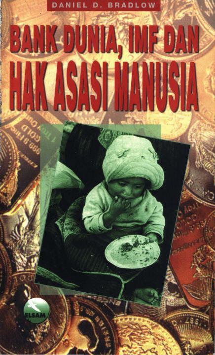 Cover buku Bank Dunia IMF dan HAM