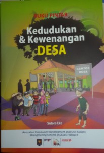 buku kedudukan dan kewenangan desa