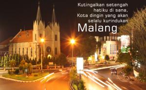 Malang, kota penuh kenangan