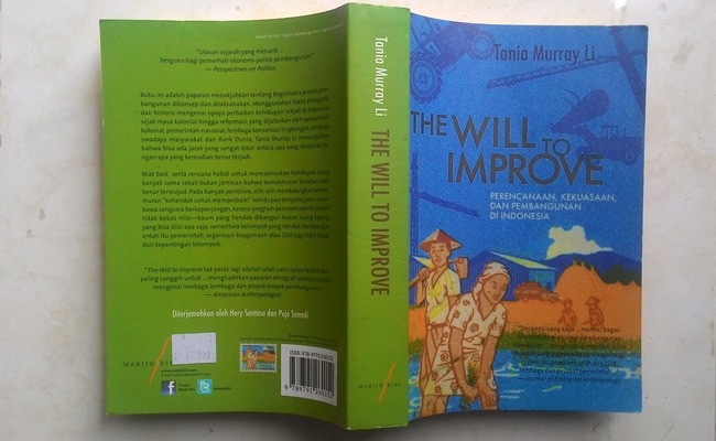 Resensi Buku The Will to Improve Tania Murray Li