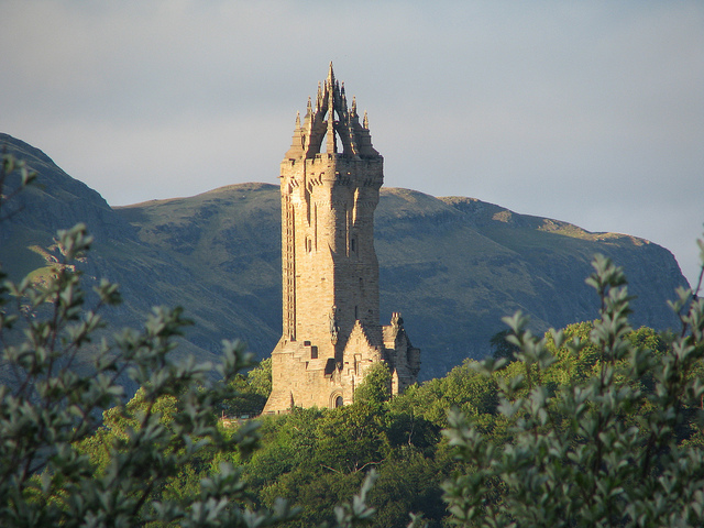 The National Wallace Monument via Hillheadfarmlets