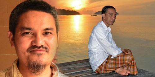 Jonru dan Jokowi via google