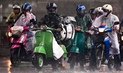 Jas hujan lebih memberikan keamanan dari kenangan via google