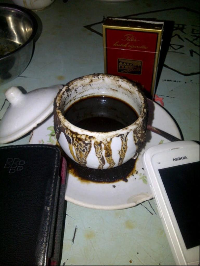 Secangkir kopi mbah ito