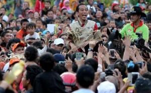 Jokowi dicinta rakyat via google