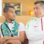 Ronaldo bersama Martunis via liputan6
