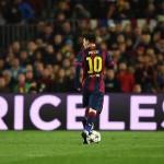 Sosok Lionel Messi via Twimg