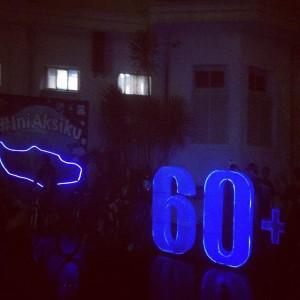 Kegiatan Earth Hour Kota Malang