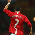 Ronaldo mengenakan nomor tujuh di Manchester United via dailymail